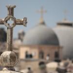 Pohľad smerom k Svätému hrobu