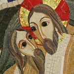 Zmŕtvychvstalý Kristus a Adam (Rupnik, 2006)