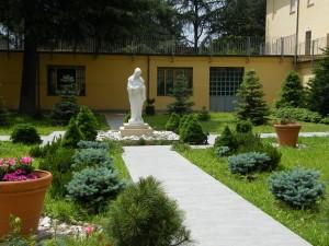 Monastero della Visitazione SM (il giardino interno), Bologna
