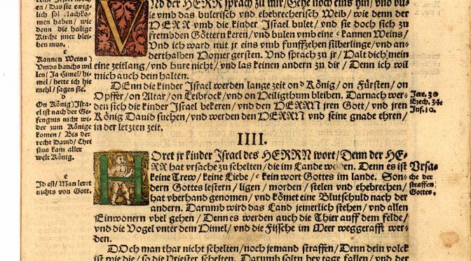 Milosť v Lutherovej Biblii