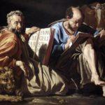 Marek a Lukáš, evanjelisti (Matthias Stomer, 1635)