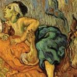Milosrdny Samaritan detail 1890 Vincent-van-Gogh