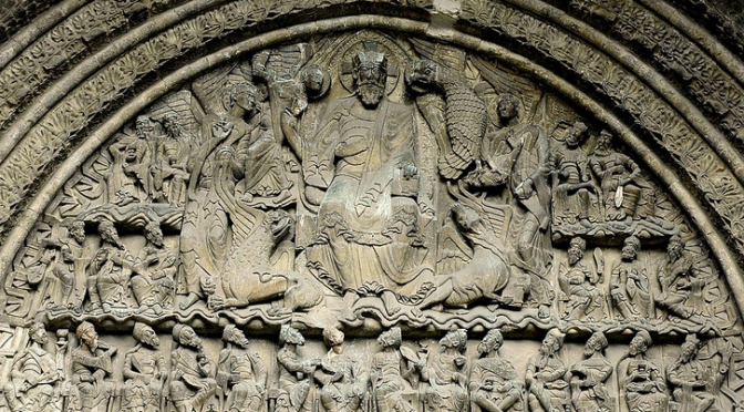 Pantokreator a 24 starcov, Chartres