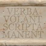 Verba - Scripta